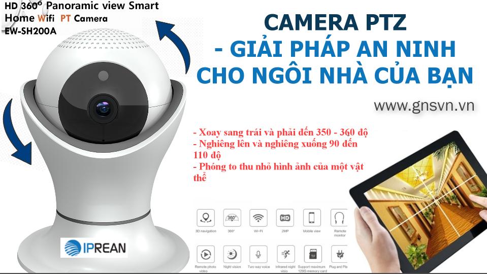 PTZ Camera – Giải pháp an ninh gia đình tốt nhất